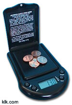 Jennings Digital Pocket Scale (275g)